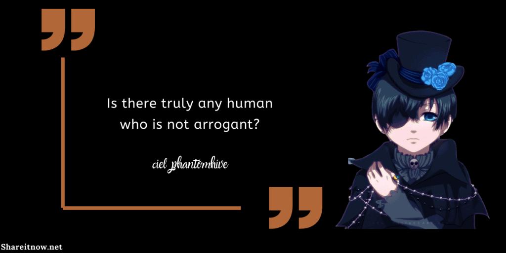 ciel phantomhive quotes