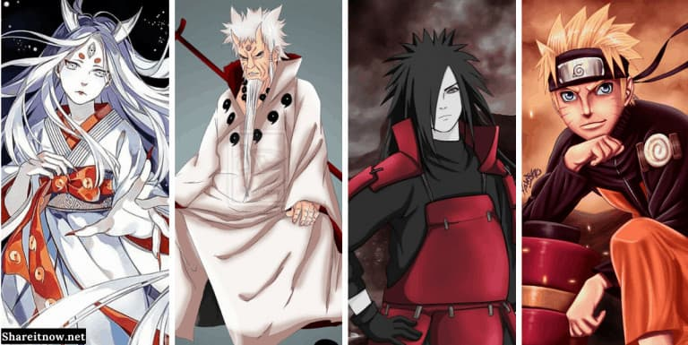 most powerful Naruto characters