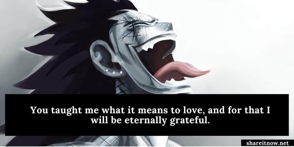 Gajeel Redfox quotes