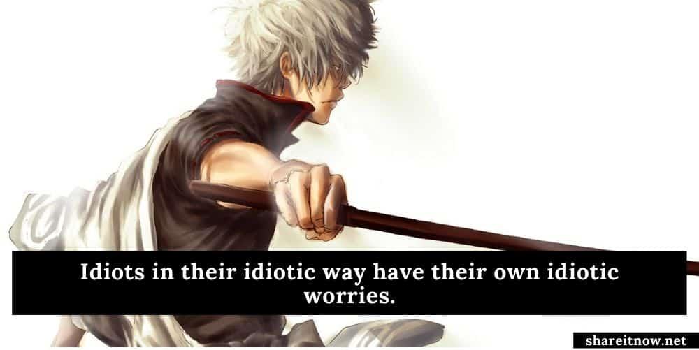 Gintoki Sakata quotes