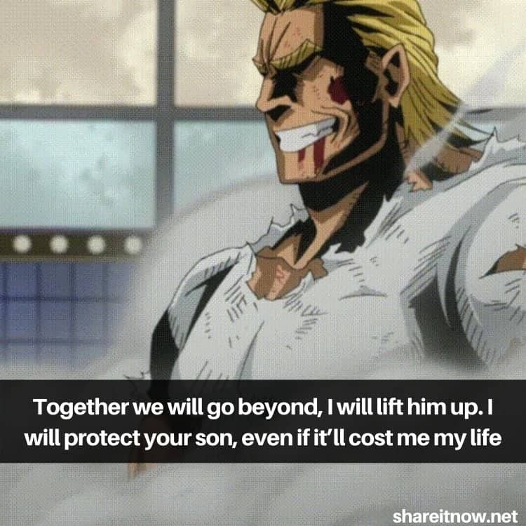 All Might quotes