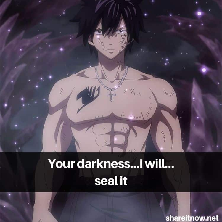 Gray Fullbuster quotes