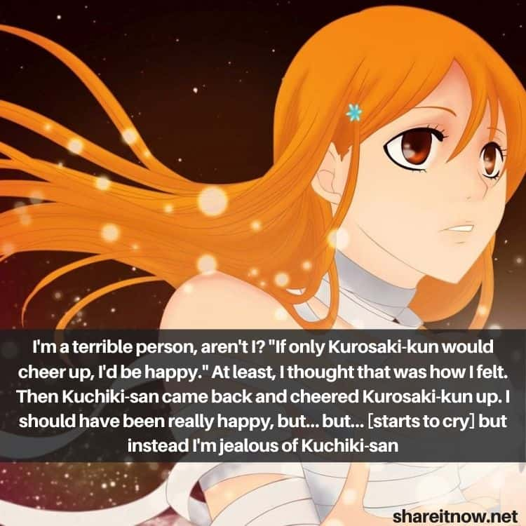 Inoue Orihime quotes