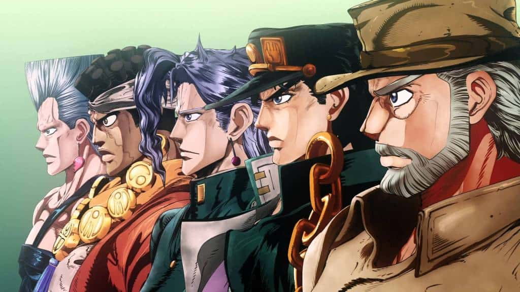Jojo's Bizarre Adventure watch order guide and main characters