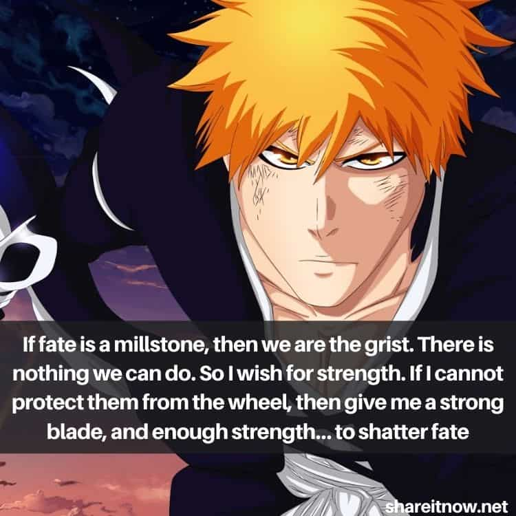 Kurosaki Ichigo quotes