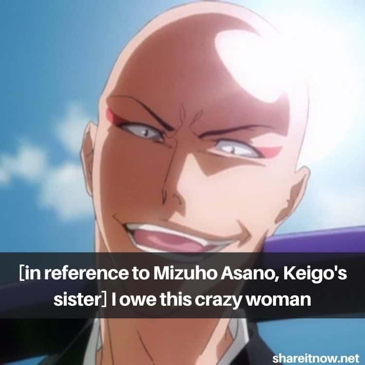 Madarame Ikkaku quotes