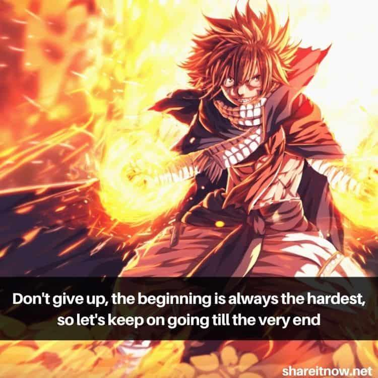 Natsu Dragneel quotes