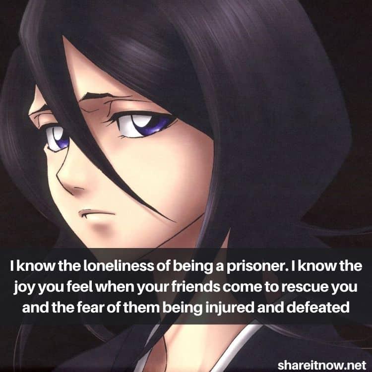 Rukia Kuchiki quotes