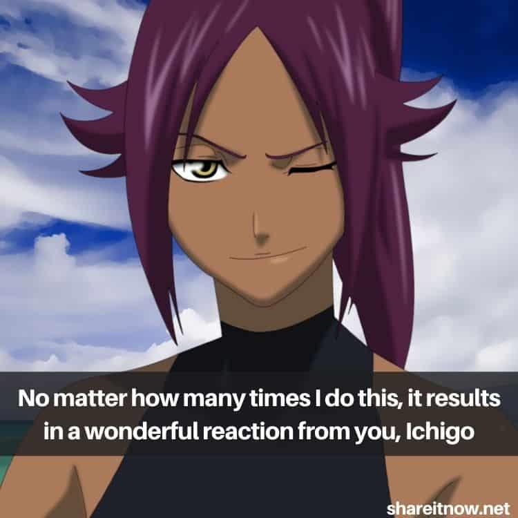 Shihouin Yoruichi quotes