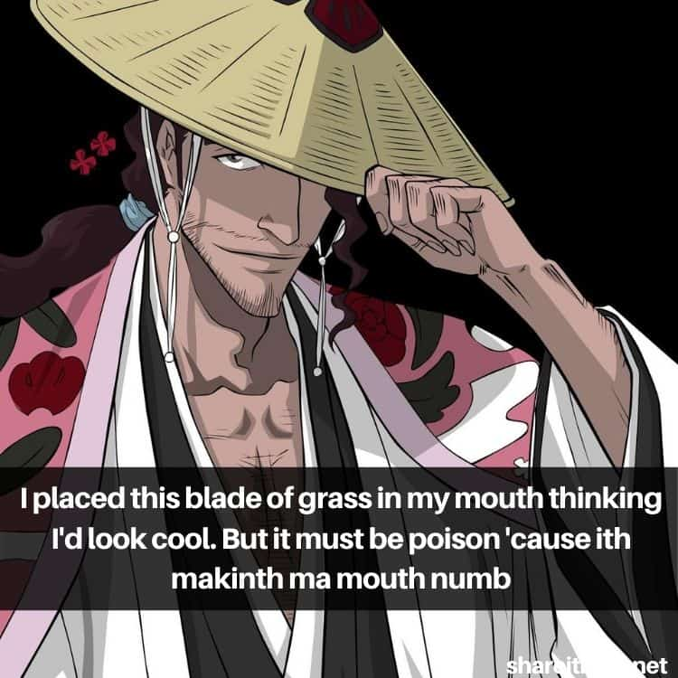 Shunsui Kyōraku quotes