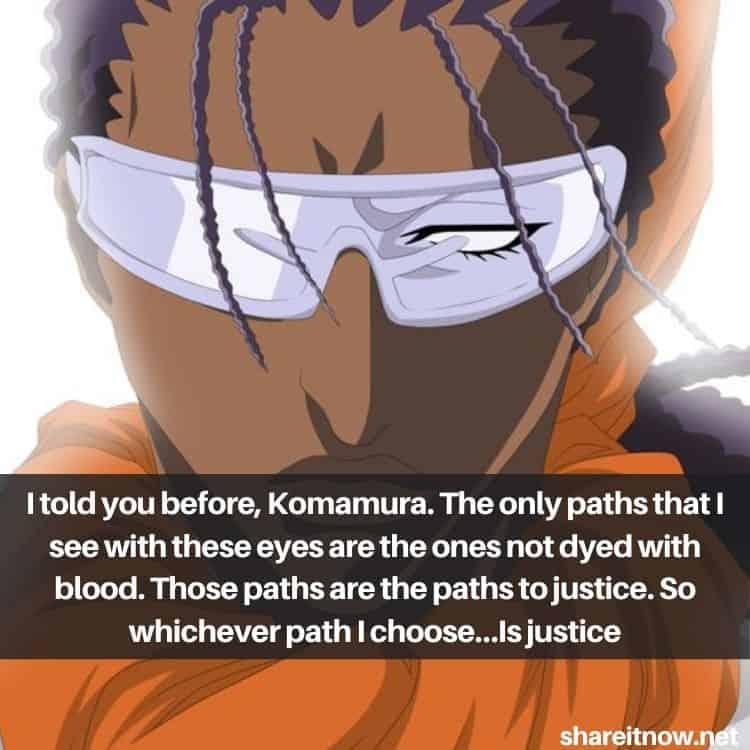 Tousen Kaname quotes