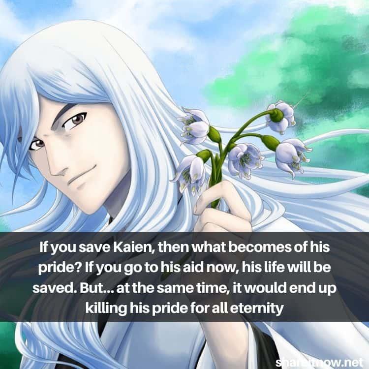 Ukitake Jyuushirou quotes