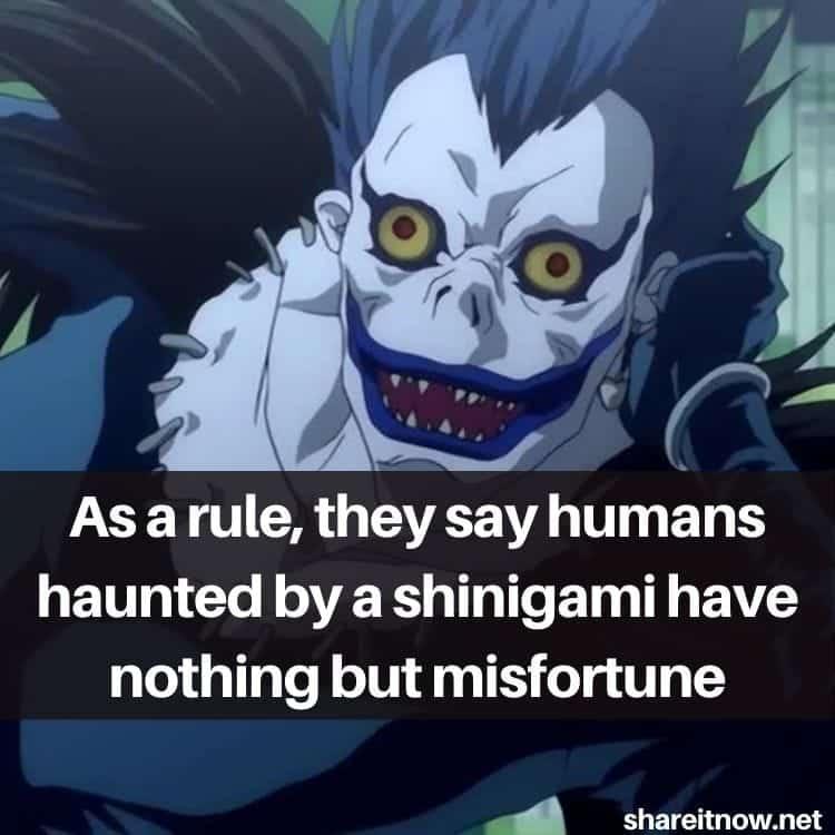 Ryuk quotes