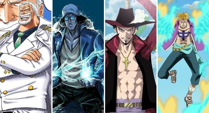 one piece strongest characters during the Marineford war