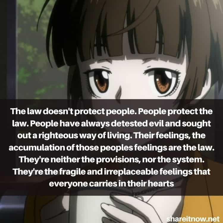 Akane Tsunemori quotes
