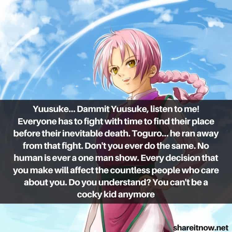 Genkai quotes
