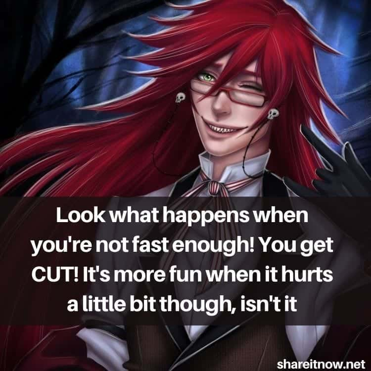 Grell Sutcliff quotes