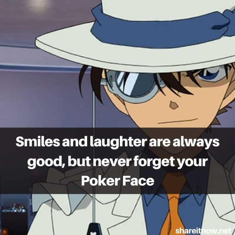 Kaitou Kid quotes