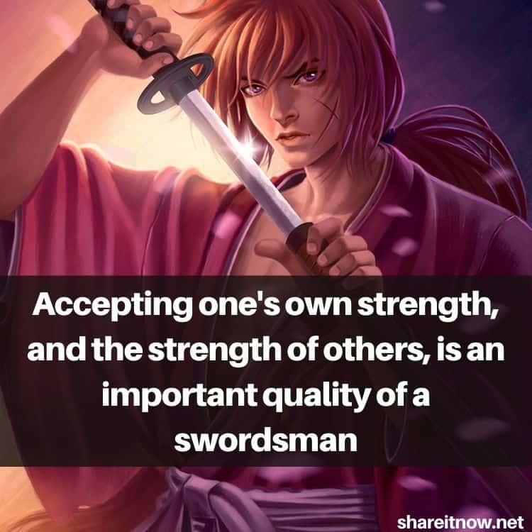 Kenshin Himura quotes