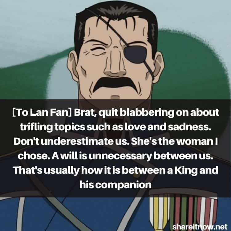 King Bradley quotes