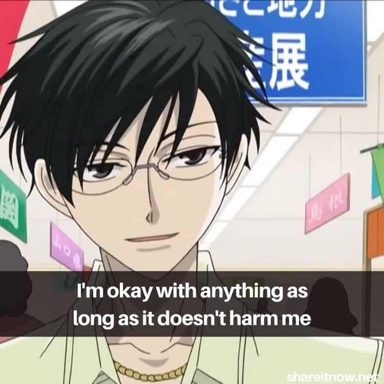 Kyoya Ootori quotes