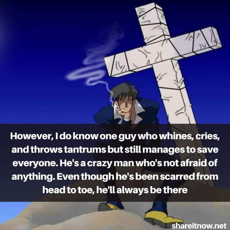 Nicholas D. Wolfwood quotes