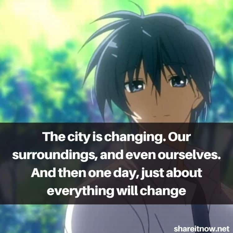 Okazaki Tomoya quotes