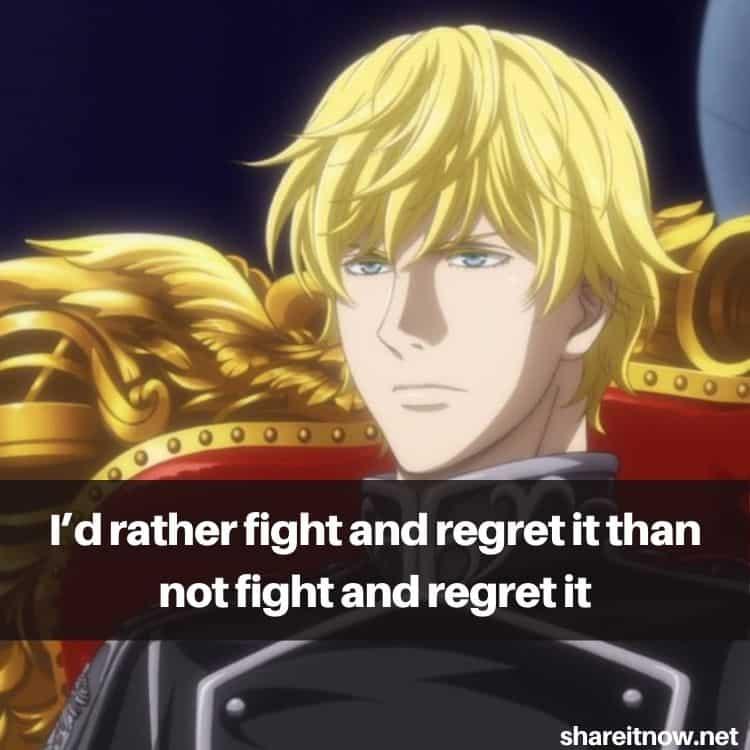 Reinhard von Lohengramm quotes