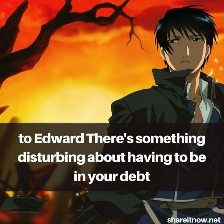 Roy Mustang quotes