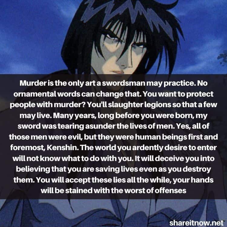 Seijuro Hiko quotes