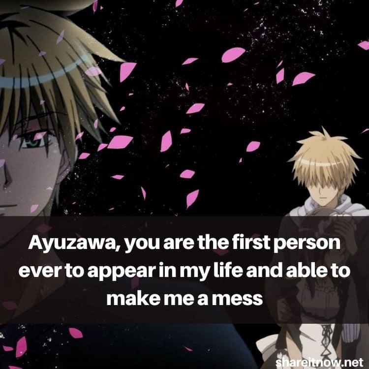Takumi Usui quotes