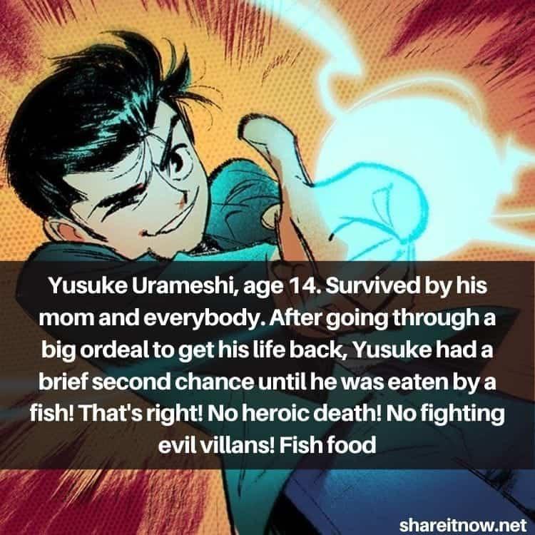 Yuusuke Urameshi quotes