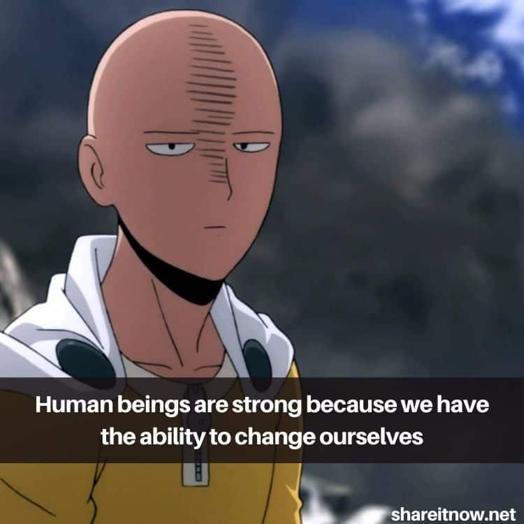 Saitama quotes