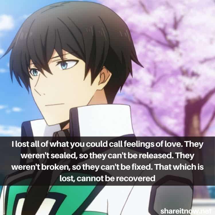Tatsuya Shiba quotes