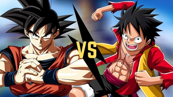 Luffy vs Goku